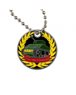 Military Travel Tag - Army
