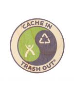 """CITO Wood Sticker:  3"""" Round"""