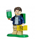 Cache Hunter with Trackable Brick