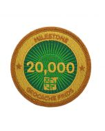 Milestone Patch - 20,000 Finds