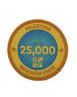 Milestone Patch - 25,000 Finds