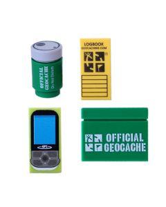 Custom Geocaching Accessory Brick Pack