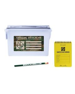 Official Ammo Can Kit with Logbook & Pencil Kit - Green Camo
