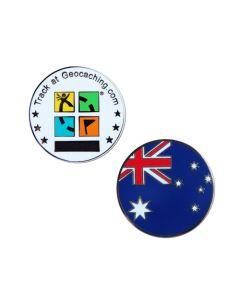 Country Micro Geocoin-Australia