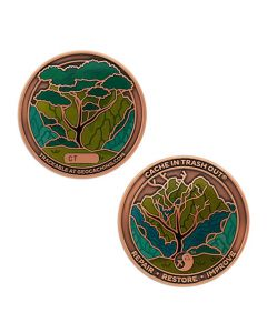 2021 CITO Geocoin & Tag Set