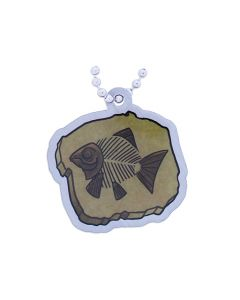 EarthCache™ Fossil Tag-  Fish