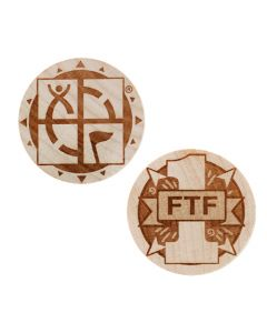 Wooden Nickel SWAG Coin- First To Find