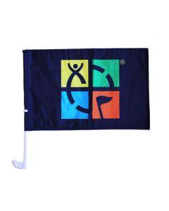 Geocaching Car Flag