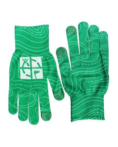 Geocaching Logo Texting Gloves