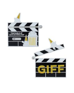 2021 GIFF Geocoin and Tag Set