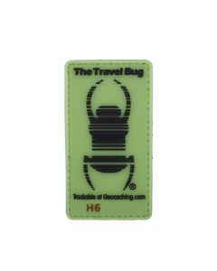 Travel Bug® Glow In The Dark Trackable Patch