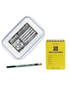 Official Large Geocache with Logbook and Pencil - Urban Camo