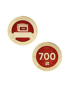Milestone Geocoin and Tag Set - 700 Finds