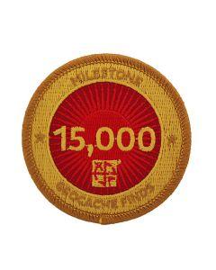 Milestone Patch - 15,000 Finds