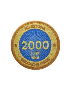 Milestone Patch - 2000 Finds