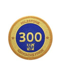 Milestone Patch - 300 Finds