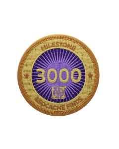Milestone Patch - 3000 Finds