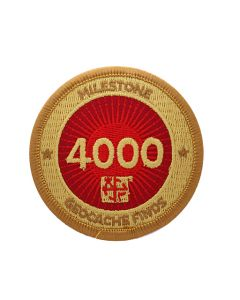 Milestone Patch - 4000 Finds
