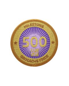 Milestone Patch - 500 Finds