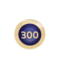 Milestone Pin - 300 Finds