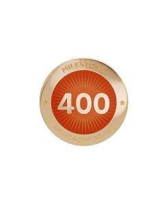 Milestone Pin - 400 Finds
