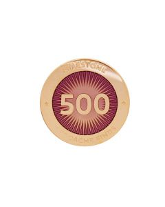 Milestone Pin - 500 Finds