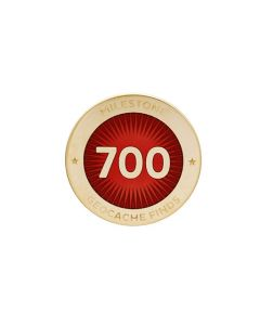 Milestone Pin - 700 Finds