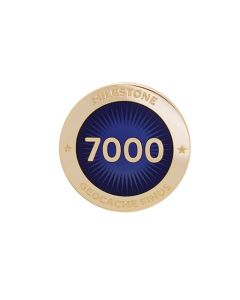 Milestone Pin - 7000 Finds