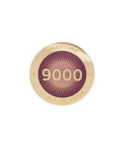 Milestone Pin - 9000 Finds