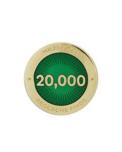 Milestone Pin - 20,000 Finds