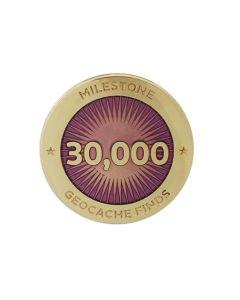 Milestone Pin - 30,000 Finds
