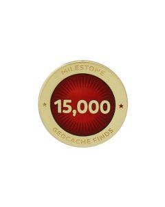 Milestone Pin - 15,000 Finds