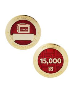 Milestone Geocoin and Tag Set - 15,000 Finds