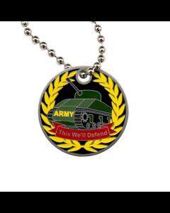 Military Travel Tag - Army