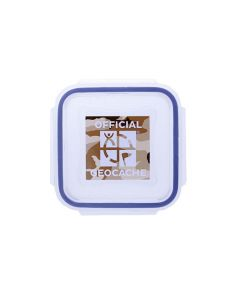 Official XX-Small Geocache with Log Strips - Desert Camo
