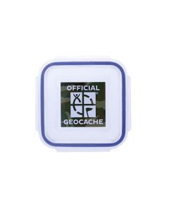 Official XX-Small Geocache with Log Strips - Green Camo