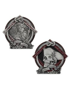 2021 Pirate Geocoin- Courage