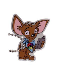 Charlie the Podcacher Chihuahua Cachekinz