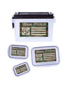 Quad Cache Container Set - Green Camo
