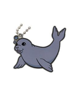 Festive Collection- Snowflake the Seal Travel Tag