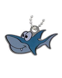 Mark the Shark Cache Buddy Travel Tag