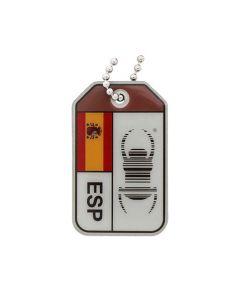 Geocaching Travel Bug® Origins Travel Tag - Spain