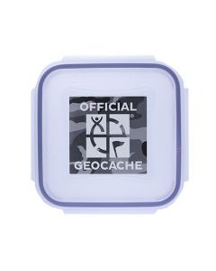 Official X-Small Geocache with Log Strips & Pencil - Urban Camo