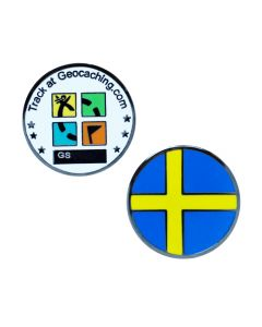 Country Micro Geocoin-Sweden