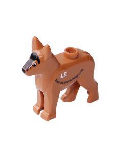 Custom Trackable GeoDog Brick- German Shepherd