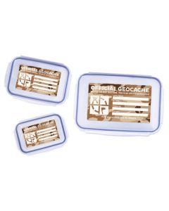 Triple Cache Container Set - Desert Camo