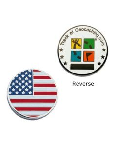 Country Micro Geocoin - USA
