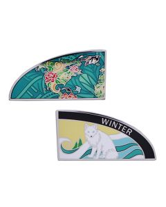 4 Seasons Geocoin - Winter