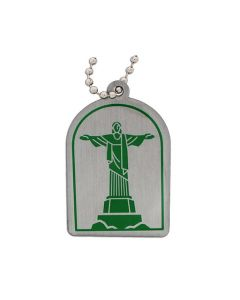 Modern Wonders of the World Trackable Tag- Christ the Redeemer
