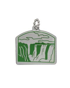 Natural Wonders of the World Trackable Tag- Victoria Falls